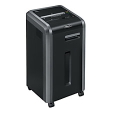 Fellowes Powershred 225i 100percent Jam Proof