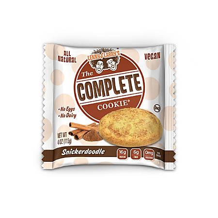 Complete Cookie Snickerdoodles, 4 Oz