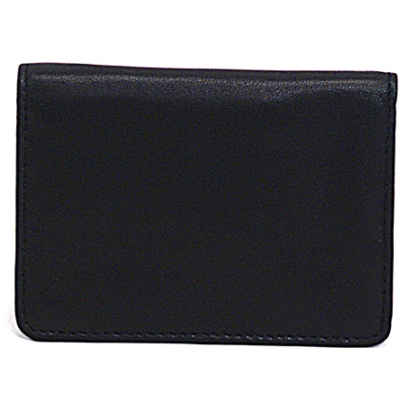 Samsonite Leather Business Card Holder 4 116 X 3 X 12 Black Office