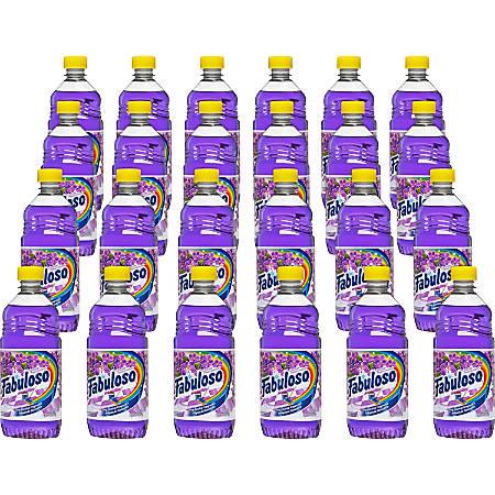 Palmolive Fabuloso Multi-Use Cleaner - Liquid - 0.13 gal (16.90 fl oz) - Fresh Scent - 24 / Bottle - 24 / Carton - Lavender
