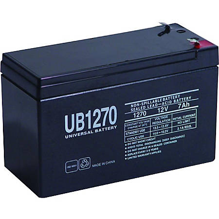 eReplacements Compatible Sealed Lead Acid Battery Replaces APC UB1270, APC RBC40 - 7000 mAh - 12 V DC - Sealed Lead Acid (SLA)