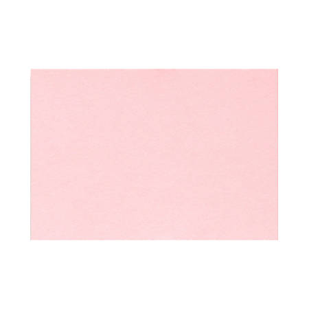 """LUX Mini Flat Cards, #17, 2 9/16"""" x 3 9/16"""", Candy Pink, Pack Of 250"""