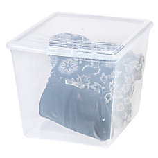 Office Depot Brand Plastic Storage Box