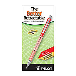 Pilot Better Retractable Ballpoint Pens Medium