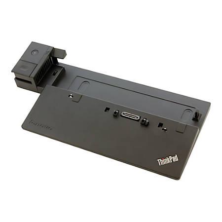 Lenovo ThinkPad Basic Dock - Port replicator - VGA - 90 Watt - for ThinkPad A475; L460; L470; L560; L570; P50s; P51s; T25; T460; T470; T560; T570; X260; X270