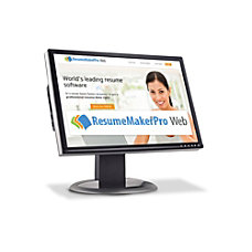 ResumeMaker Professional Web Annual Subscription Download
