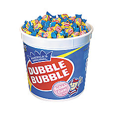 Dubble Bubble Gum Tub 393 Lb