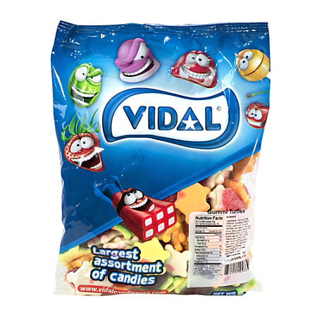 Vidal Gummy Turtles, 2.2-Lb Bag