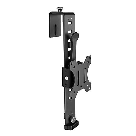"Mount-It! Over Cubicle Monitor Mount Hanger, 16""H x 4""W x 5""D, Black"