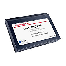 Office Depot Brand Gel Stamp Pad