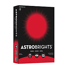 Bright Color Paper Neenah Astrobrights Letter