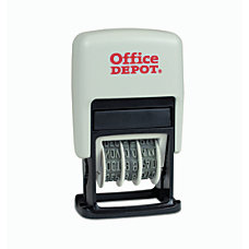 Office Depot Brand Self Inking 3