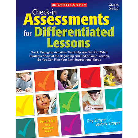 Scholastic Teacher Resources Check-In Assessments For Differentiated Lessons, Grade 5-12