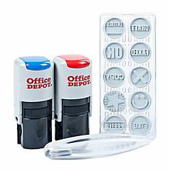 Office Depot Brand Self Inking Kit