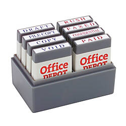 Office Depot Brand Mini Message Stamp