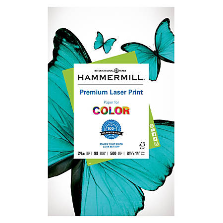 Hammermill® Laser Paper, Legal Size, 24 Lb, Pack Of 500 Sheets