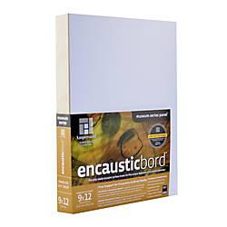 Ampersand Encausticbord 9 x 12 1
