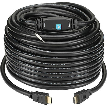 KanexPro HDMI AUdio/Video Cable with Ethernet - 75 ft HDMI A/V Cable for Audio/Video Device - First End: 1 x HDMI (Type A) Male Digital Audio/Video - Second End: 1 x HDMI (Type A) Male Digital Audio/Video - Shielding