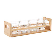 Mind Reader Flight Tray 4 Compartments