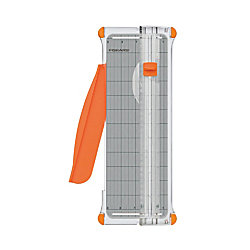 "Fiskars Personal Paper Trimmer, 10 Sheets, Plastic Base, 5 1/2"" x 14"""