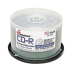 SKILCRAFT Multispeed CD R Recordable Media