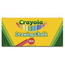 Crayola Colored Drawing Chalk Sticks 32