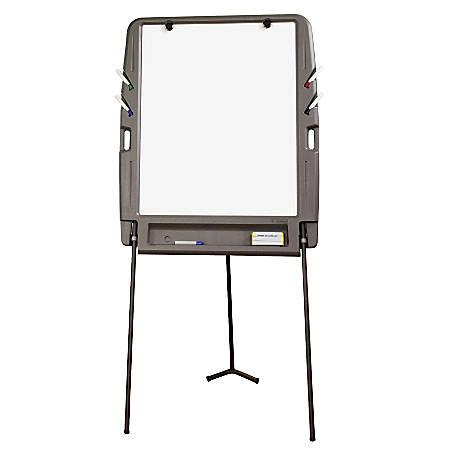 iceberg portable dry erase flipchart easel 35 x 73 white. Black Bedroom Furniture Sets. Home Design Ideas