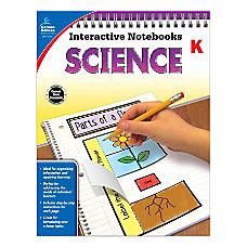 Carson Dellosa Interactive Notebooks Science Kindergarten