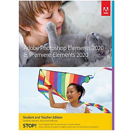Adobe Photoshop Elements 2020 & Premiere Elements 2020 Student & Teacher Edition (Mac)