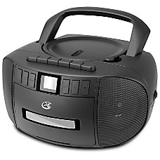 GPX BCA209 CD Boombox With AMFM