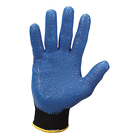 Jackson Safety G40 Nitrile Coated Gloves - Nitrile Coating - 7 Size Number - Small Size - Blue - Washable, Silicone-free - For Multipurpose, Assembling, Metal Handling, Glass Handling, Wood Handling, Automobile/Aviation Industry - 24 / Pack
