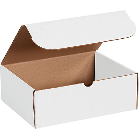 """Office Depot® Brand Literature Mailers, 3"""" x 4"""" x 10"""", White, Pack Of 50"""