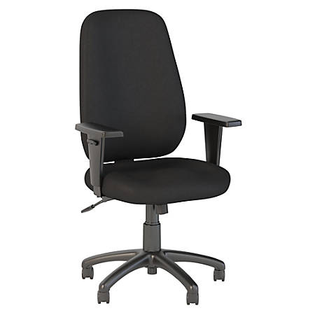 Bush Business Furniture Prosper High Back Task Chair, Black Fabric, Standard Delivery