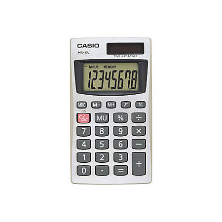 Casio HS-8V Basic Calculator