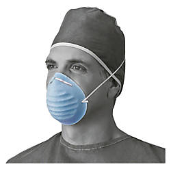 Medline Cone style Face Mask Latex