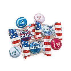 Vidal Individually Wrapped Baseball Gumballs 14