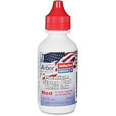 SKILCRAFT Premium Stamp Pad Refill Ink