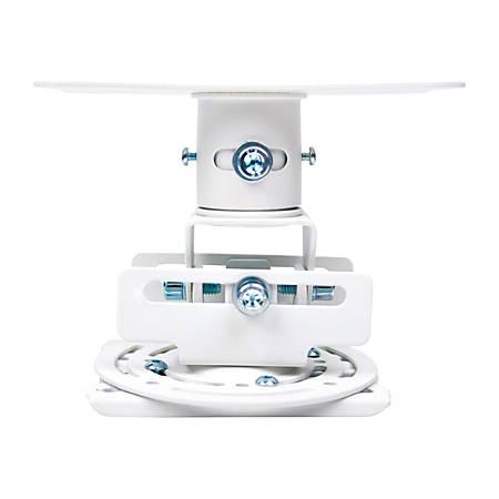 Optoma OCM818W-RU - Ceiling mount for projector - white - for Optoma ES556, EW1691, EW556, EW631, EX555, EX556, HD6720; ProScene EX785; ThemeScene HD23