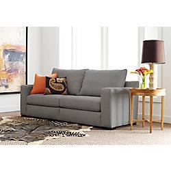 Serta Geneva Sofa 78 Gray