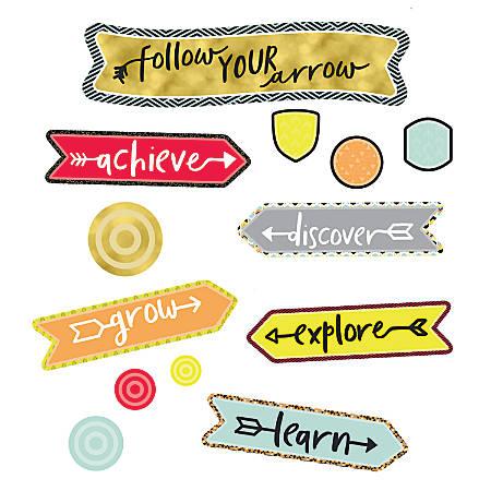 "Carson-Dellosa Aim High Follow Your Arrow Mini Bulletin Board Set, 23 5/8""H x 6 13/16""W x 1/8""D"