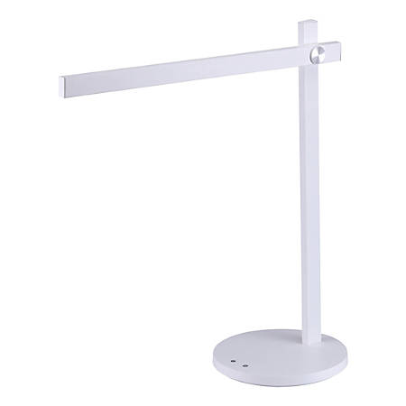 "Bostitch® Dimmable LED Bar Desk Lamp, 16-15/16""H, White"