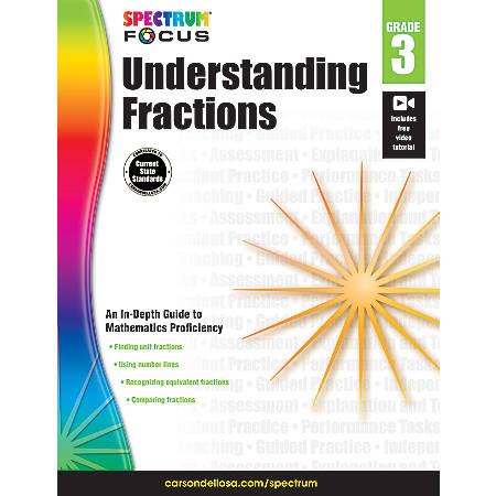 Spectrum® Understanding Fractions, Grade 3