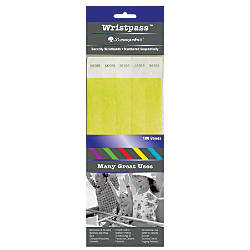 Baumgartens Wrist Passes Yellow Pack Of