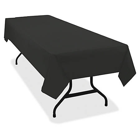 Tablemate Heavy Duty Plastic Table Covers 108 Length X 54 Width 6