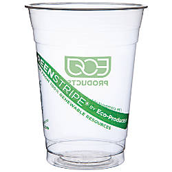 Eco Products GreenStripe Plastic Cold Cups