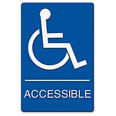 Headline US Stamp Sign Wheelchair Image