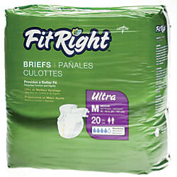 FitRight Ultra Briefs Medium 32 42