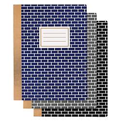 Divoga Composition Notebook Bricks Design 9