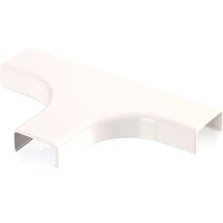 C2G Wiremold Uniduct 2800 Bend Radius Compliant Tee - Fog White