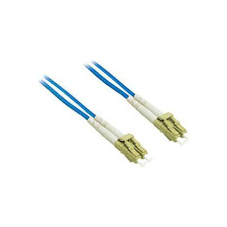 C2G-2m LC-LC 62.5/125 OM1 Duplex Multimode Fiber Optic Cable (Plenum-Rated) - Blue